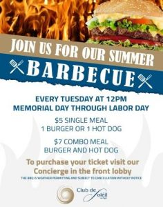 Summer Barbecue Flyer