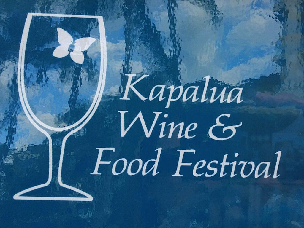 Maui June events Kapalua Wine & Food Maui Beach Vacation Club